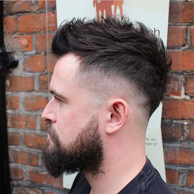 British Master Barbers On Instagram Heavy Blended Drop Fade From That Barber Birty Mens Haircuts Short Hair Short Textured Hair Hair And Beard Styles