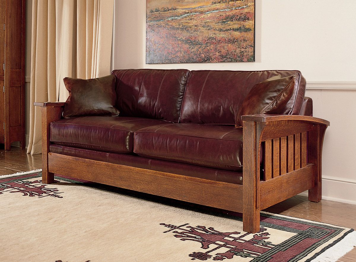 Stickley Orchard Street Sofa · Leather FurnitureSofa ...