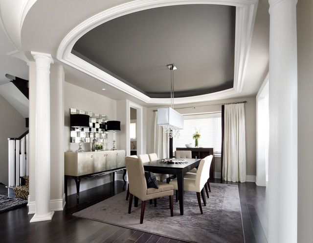 15 Tips On How To Make Your Ceiling Look Higher Contemporary