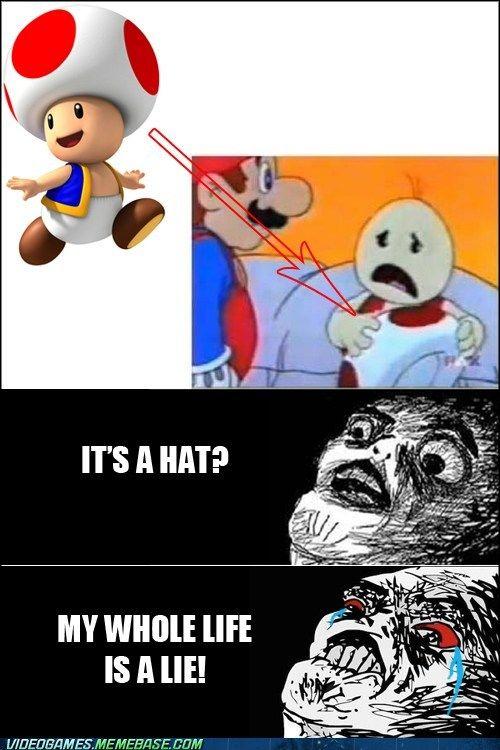 496fed8f9212752cc75491a9c3b3355d video game memes don't ever show me this again geek love \u003c3