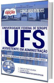 Apostila Ufs 2017 Assistente Em Administracao Universidade