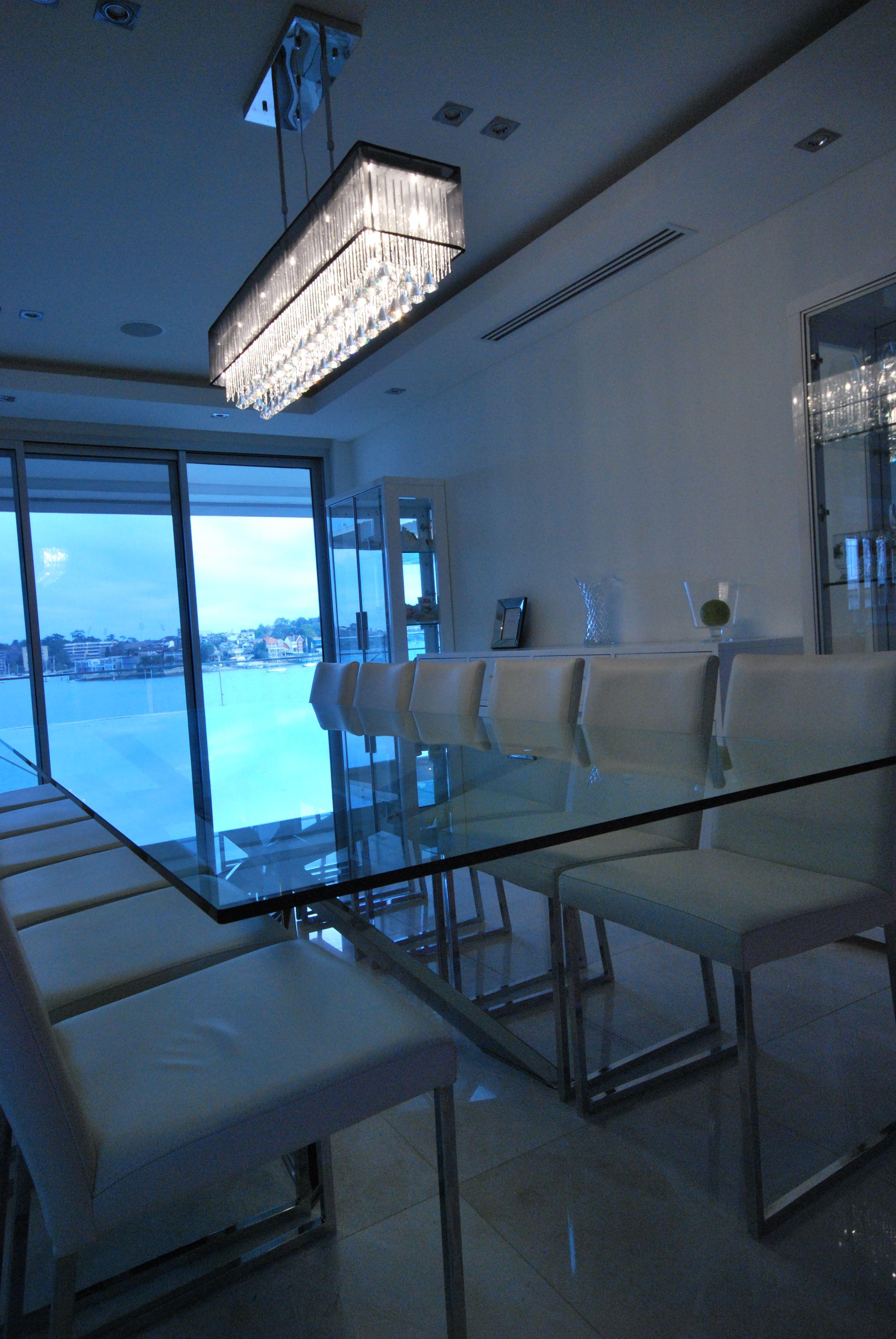 Multi Million dollar home in Sydney Formal dining designer Italian ...