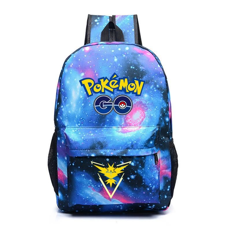 50837223aa 10 MINUS 1 2016 New Hot Pokemon Go Galaxy Backpack Pokemon Backpacks For  Teenager Shoulder Bag Laptop Bag SchoolBag Rucksack Travel Bookbag 2016 New  Hot ...