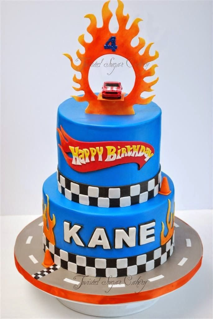 Nothing Completes A Hot Wheels Themed Birthday Party Like A Hot Wheels Cake If Your Littl Hot Wheels Birthday Cake Hot Wheels Cake Hotwheels Birthday Party