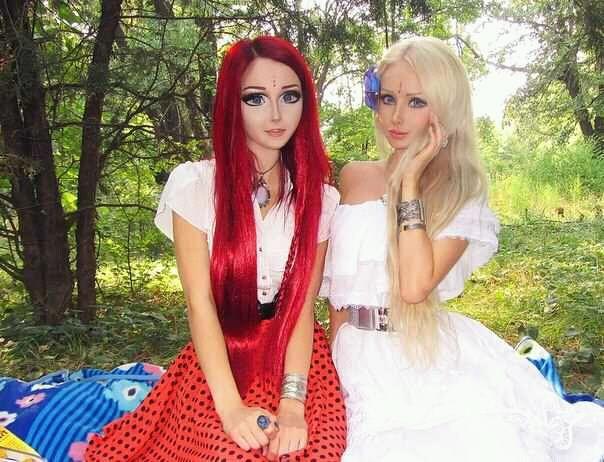 real barbie Anime life