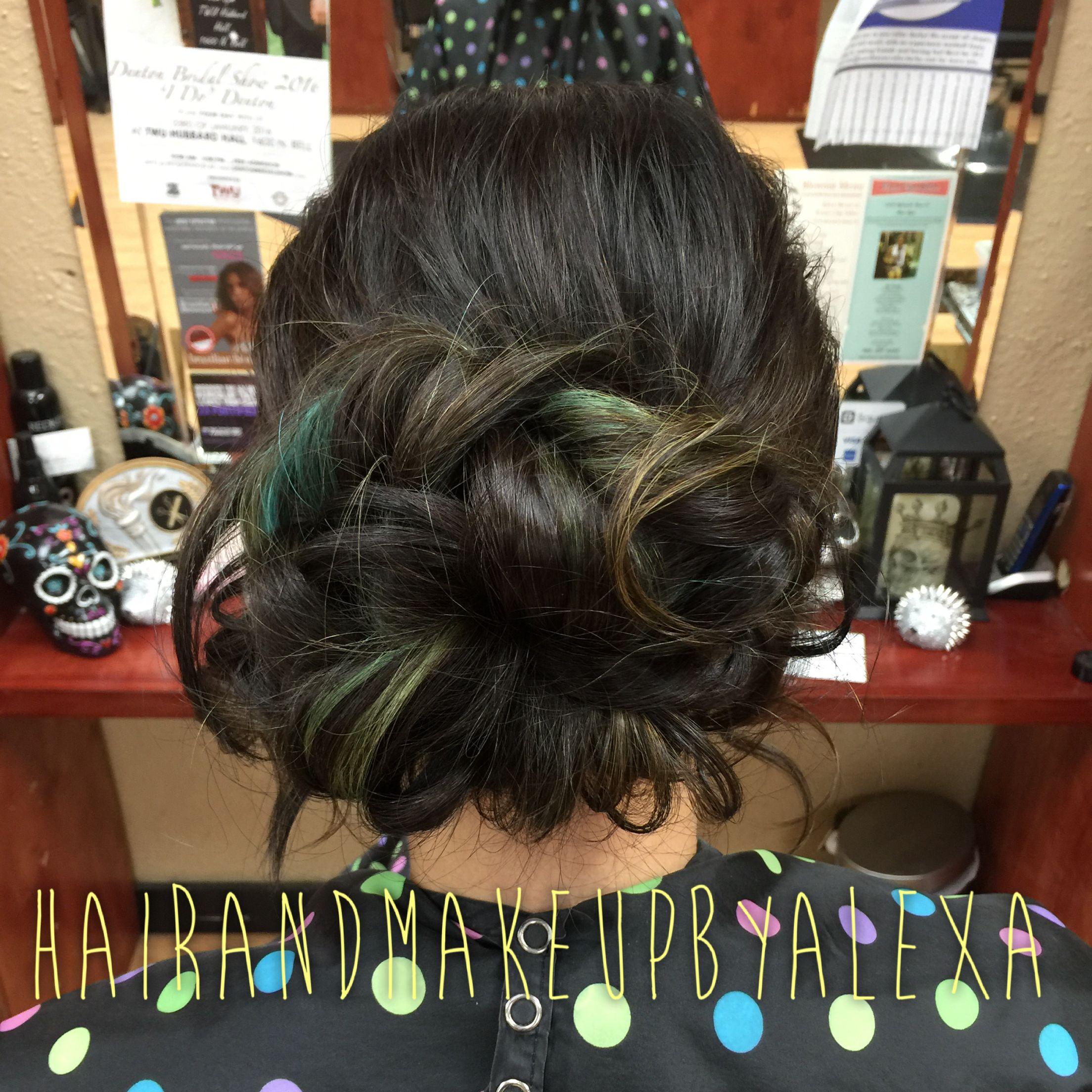 updo krum clips salon texas prom gorgeous follow