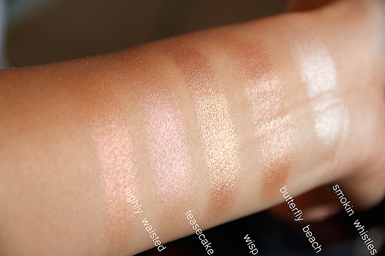 Shannon Le Colourpop Highlighter Collection & Swatches