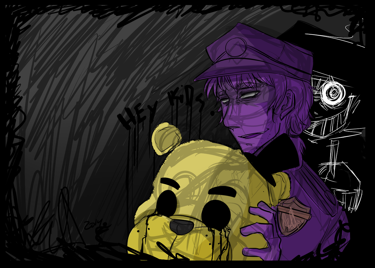 Phone guy x purple guy fanfic lemon - Another Purple Guy Art By Seriouslynotpaul Tumblr Com