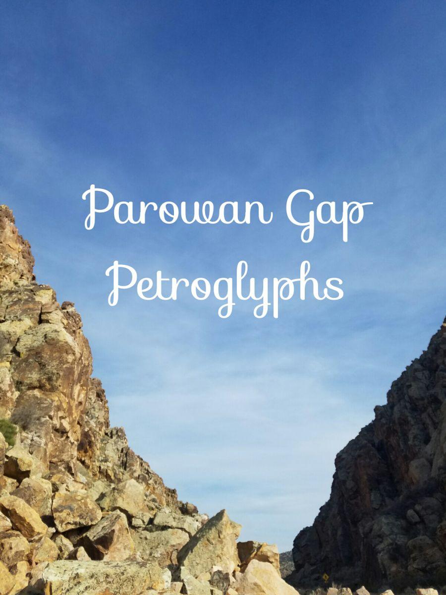 Parowan Gap Petroglyphs Iron County, UT Parawon gap