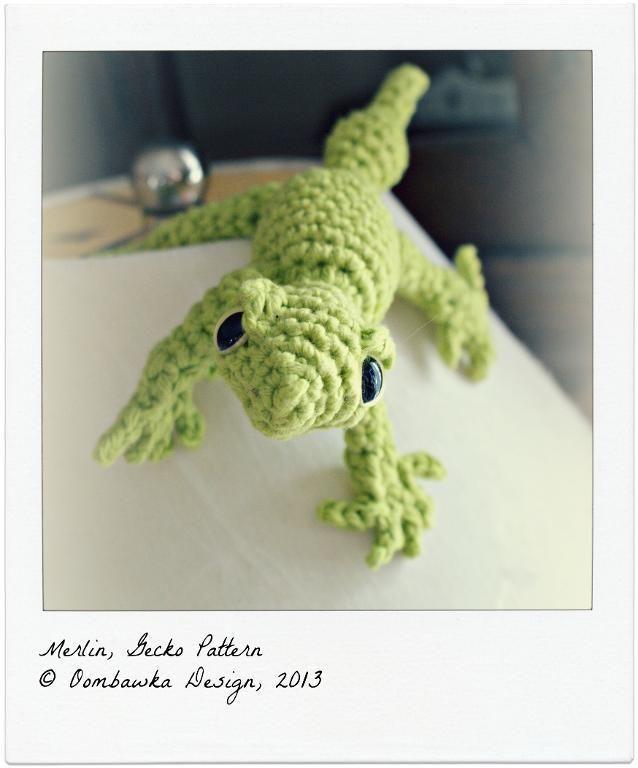 MERLIN - Gecko Crochet Pattern pattern on Craftsy.com | Crochet ...