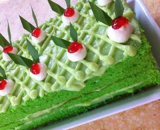 Resep Lebaran Cake Pandan Suji Ttm Kue Kering Resep Kue Kue Bolu