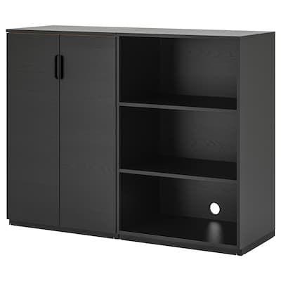 Ikea Galant Combinaison De Rangement Storage Furniture Combination Black Ikea Galant