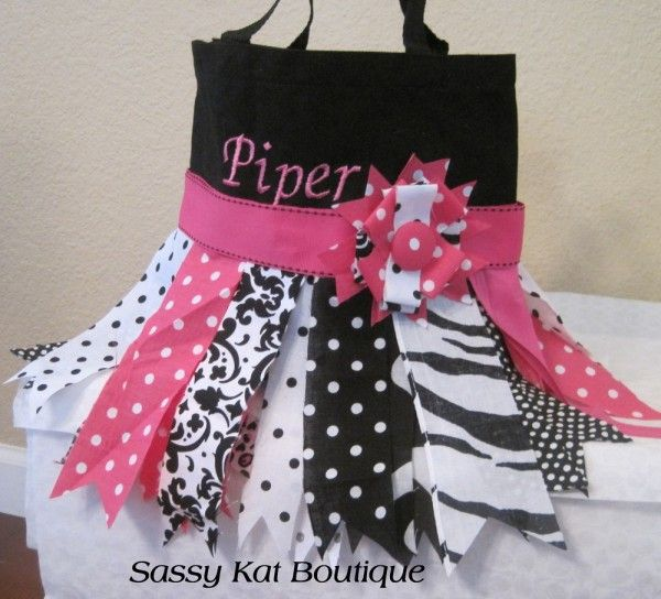 Rag Skirt Tote Bag from Picsity.com