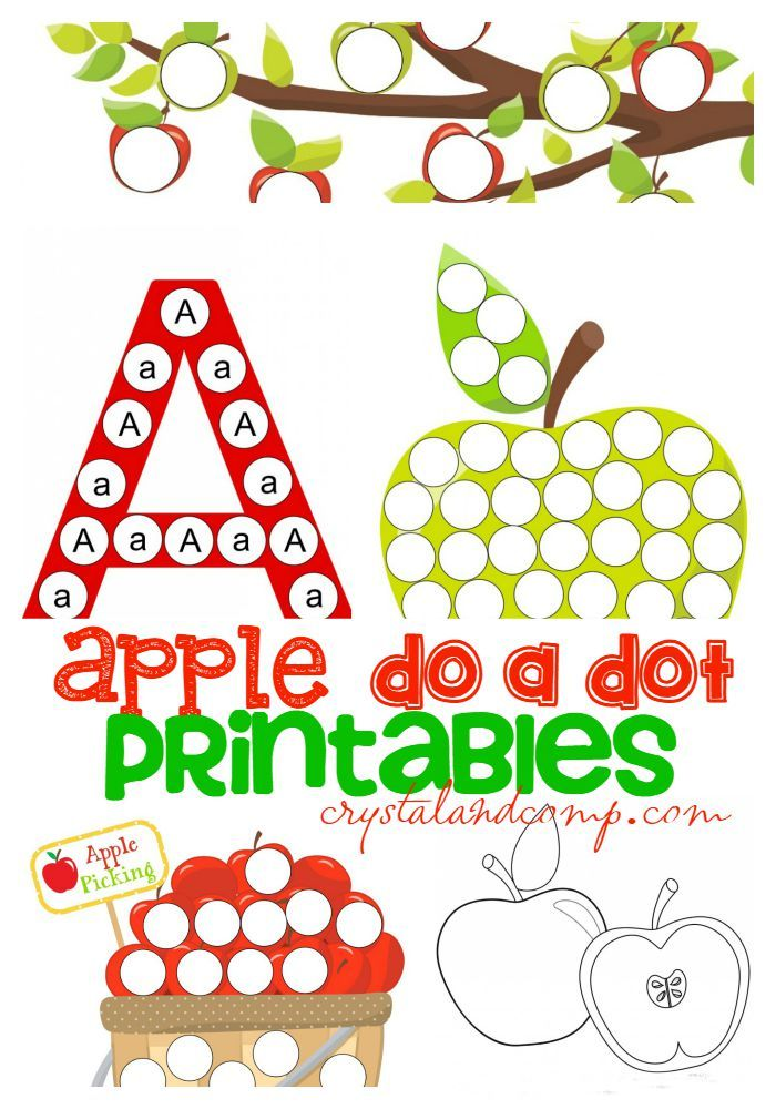 A Is For Apple Preschool Worksheets Fall Pinterest Preschool