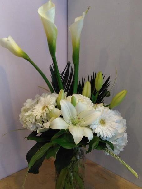 A Flower Arrangement Called Fantasy Flower Arrangements Flower Pots Floral Arrangements