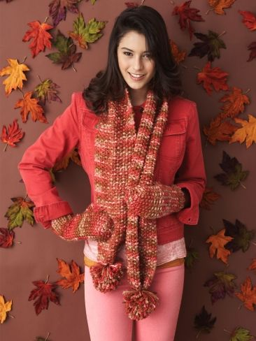 Quick Cozy Set Yarn Free Knitting Patterns Crochet Patterns