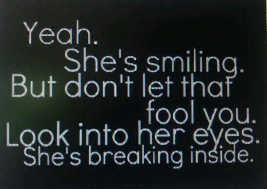 She's Breaking Inside