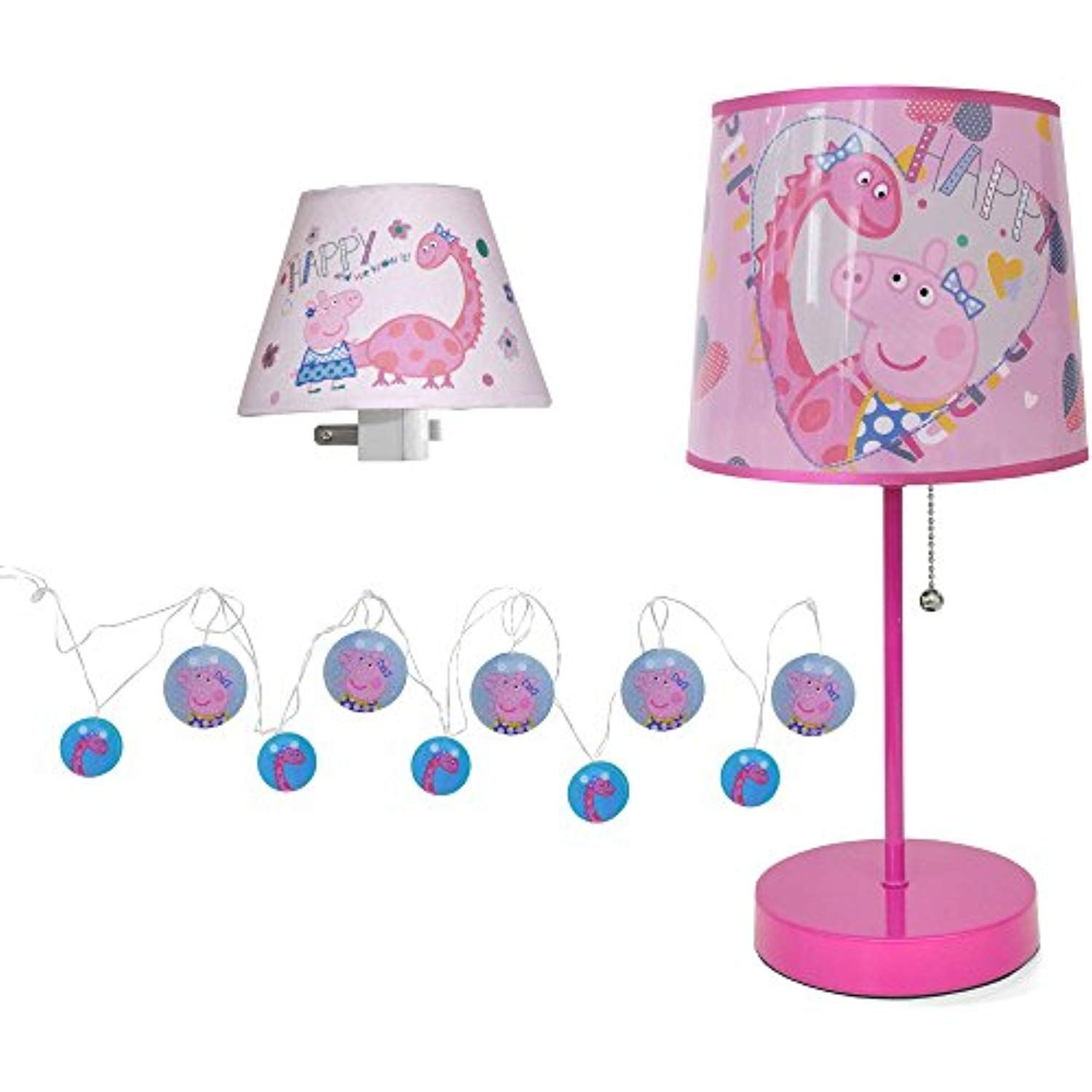 Entertainment One Peppa 3 Piece Lighting Set ** Check out