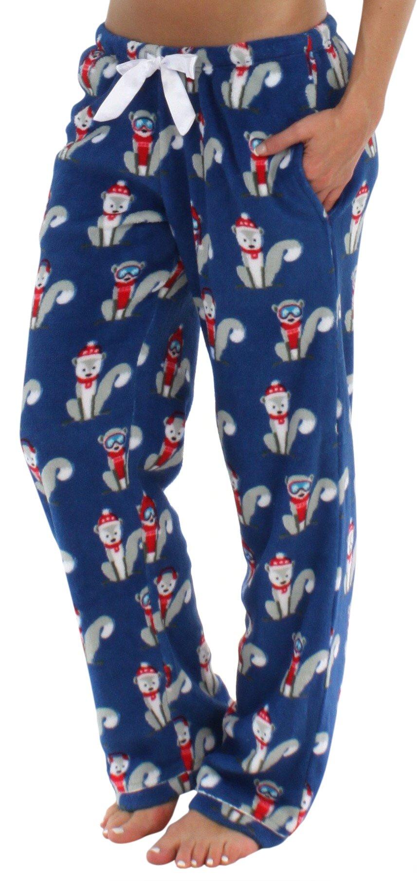 ecd99afc7acd PajamaMania Women s Fleece Pajama Pant Comfy Pants