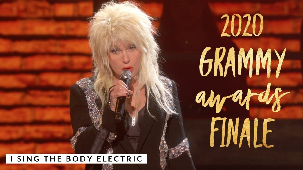 Cyndi Lauper I Sing the Body Electric 62nd Annual