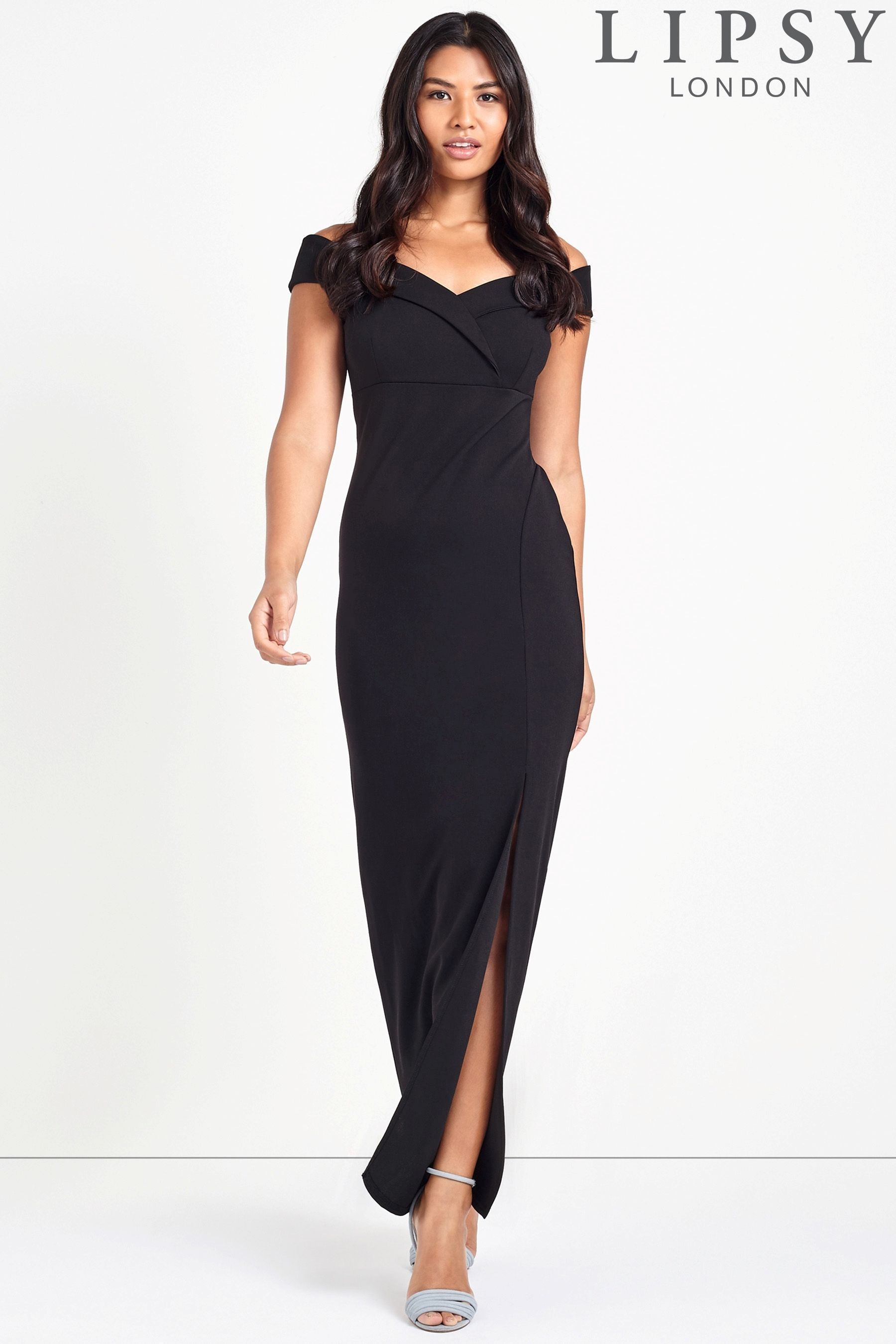 3e56c2b6 Buy Lipsy Bardot Split Maxi Dress from the Next UK online shop ...