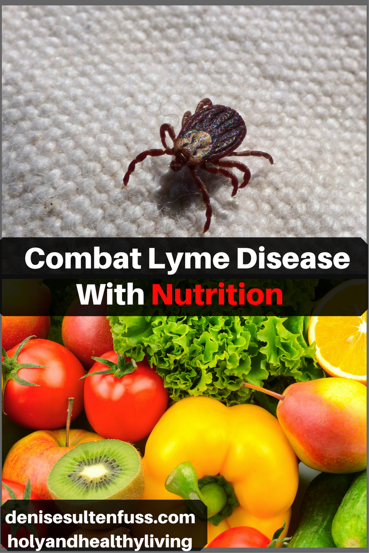 Combat Lyme Disease With Nutrition Part One Of A Series On Lyme Lyme Disease Diet Lyme Disease Lyme
