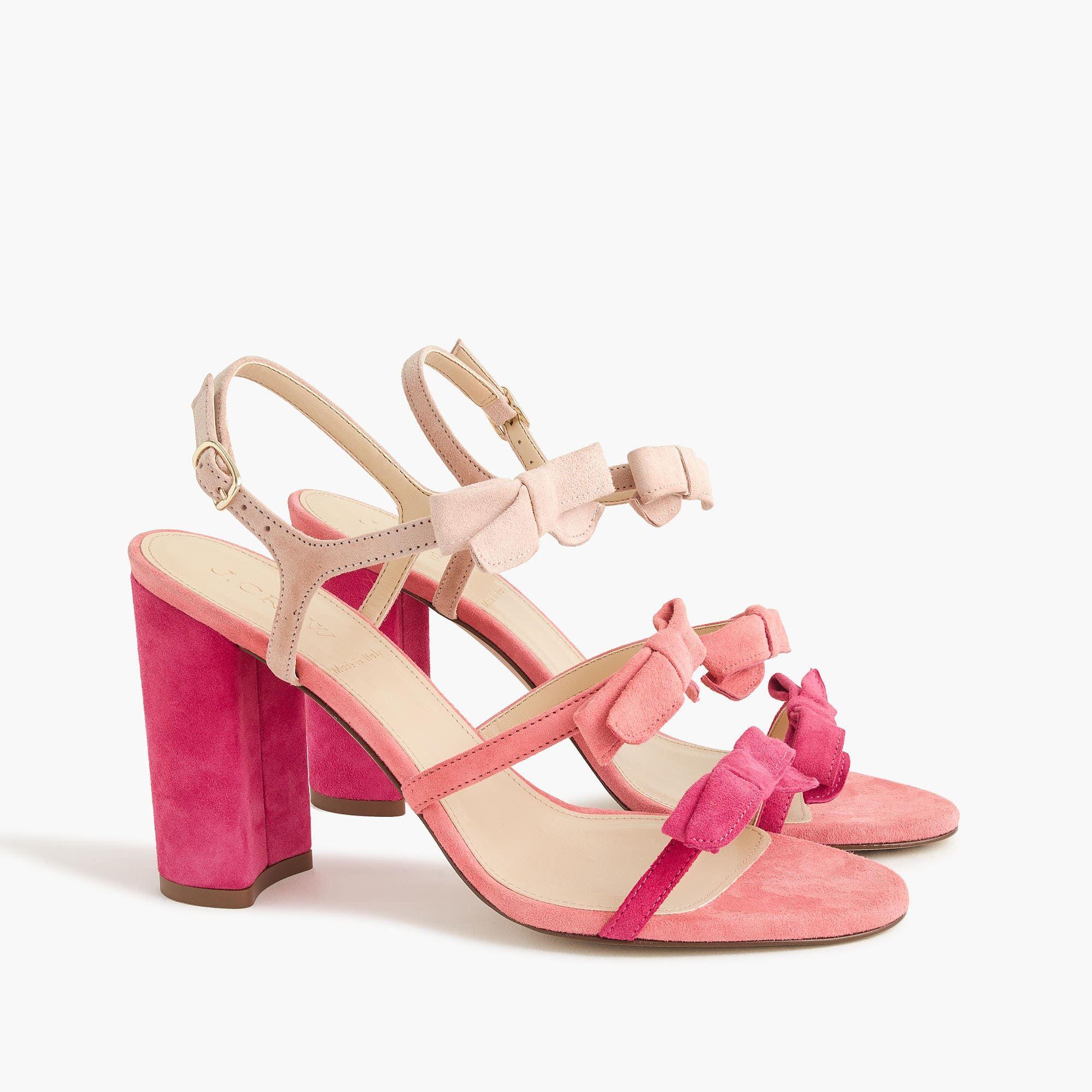 e8bbbaf4dd9 Stella bow heels in fuschia