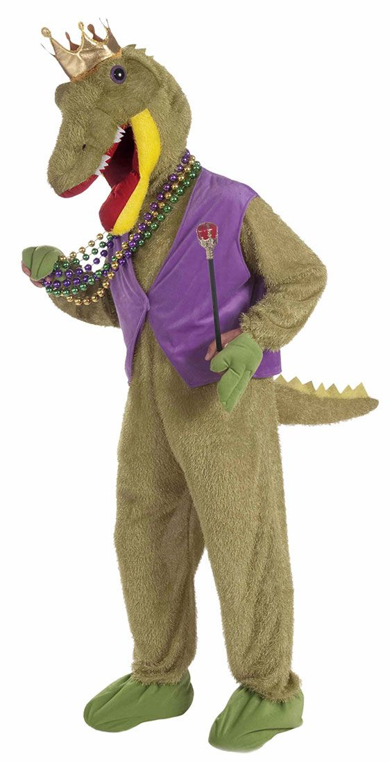 Alligator King Mardi Gras Costume  sc 1 st  Pinterest & Alligator King Mardi Gras Costume | Mardi Gras | Pinterest | Mardi ...