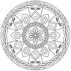 Mandala Monday – Another Free Mandala to Color from ccjfan.com ...
