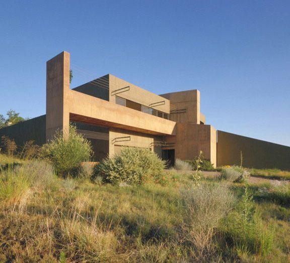Desert House In Albuquerque By Modern Architect Antoine Predock House Designs Exterior Desert Homes Modern Architects