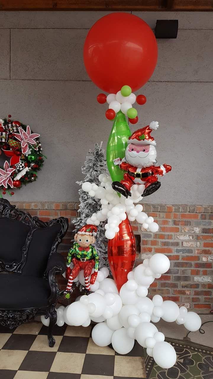 Christmas Balloon Decorating Ideas Part - 19: 80+ Pocket-friendly Balloon Christmas Decoration Ideas To Steal Now