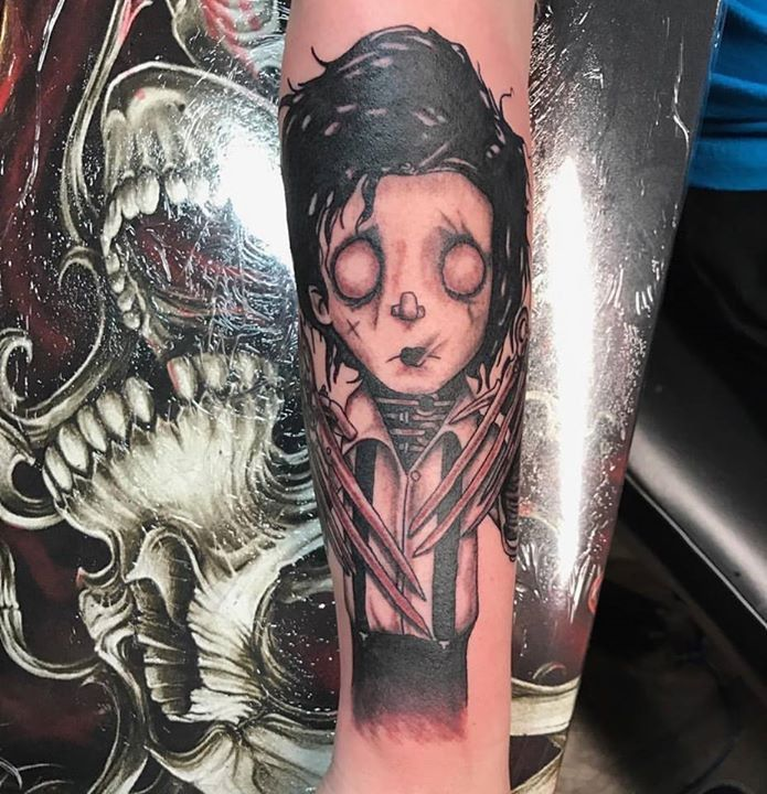 Horror Tattoo by Mike from Love Blood Ink 20170313
