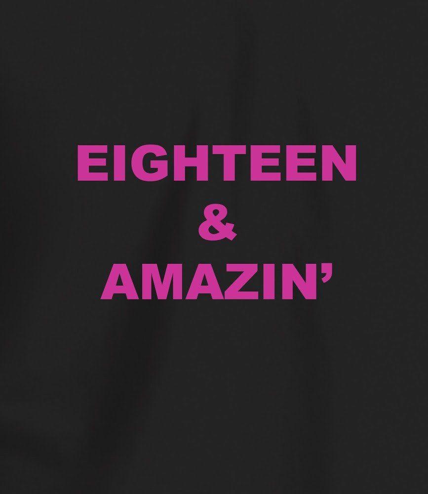 Womens 18th Birthday T Shirt
