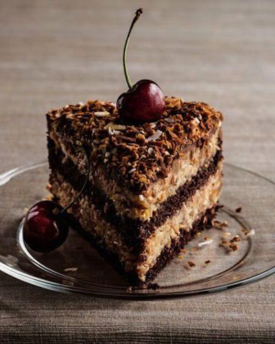 German chocolate #cake #recipe