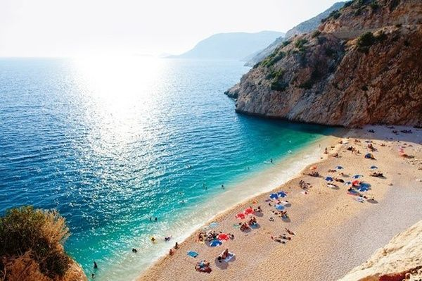 On my list of must-see destinations...Kaputas Beach, Turkey