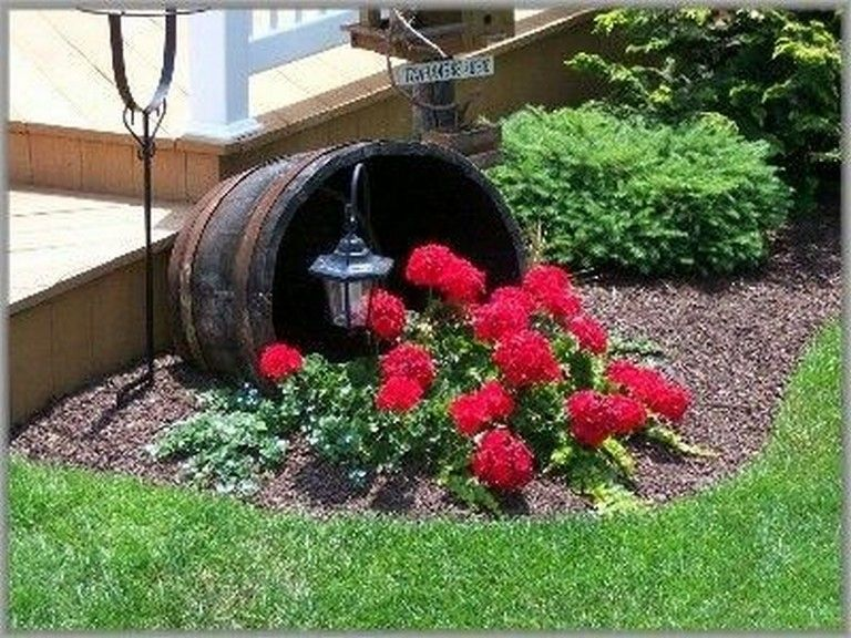 Photo of 15 Beautiful Flower Beds In Front Of House Ideas #gardendesign #gardeningtips #g…