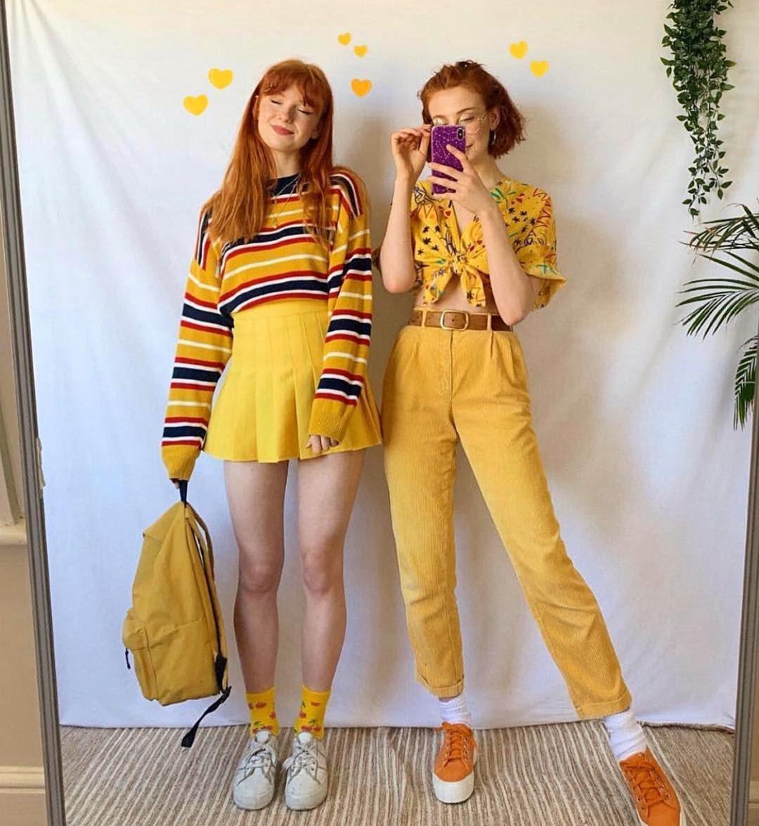 Aesthetic Yellow Gacha Outfits