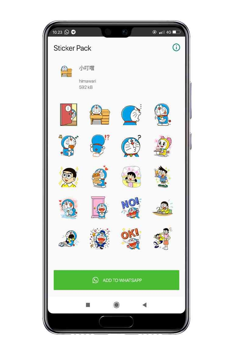 Stiker Whatsapp Doraemon Stickers Electronic Products 10 Things