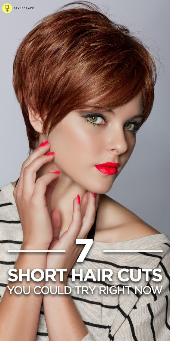 7 Short Hair Cuts You Could Try Right Now Chic Short Hairstyles