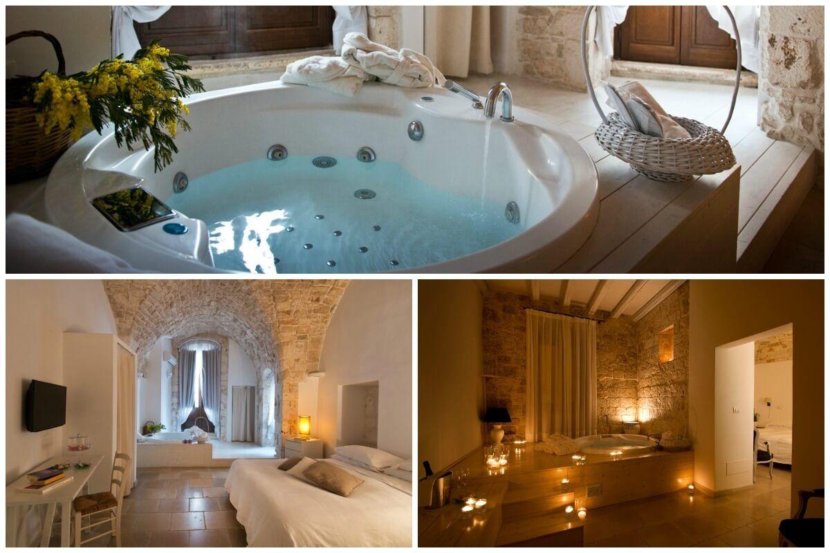 Camera Con Vasca Idromassaggio : Hotel con vasca idromassaggio in camera corte altavilla jacuzzi