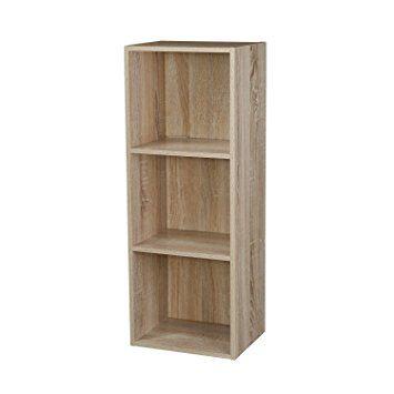 1, 2, 3, 4 étages en bois étagère bibliothèque étagère en bois de