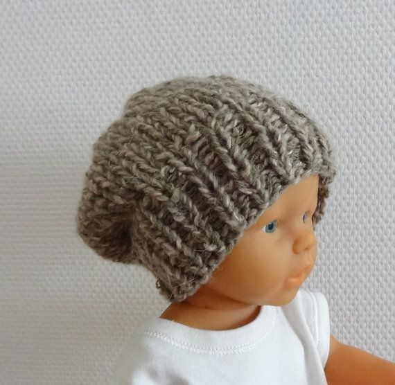f1a3d85f84e Newborn Hipster Hat Baby Fall Winter Hat Slouch by IfonBabyLand ...