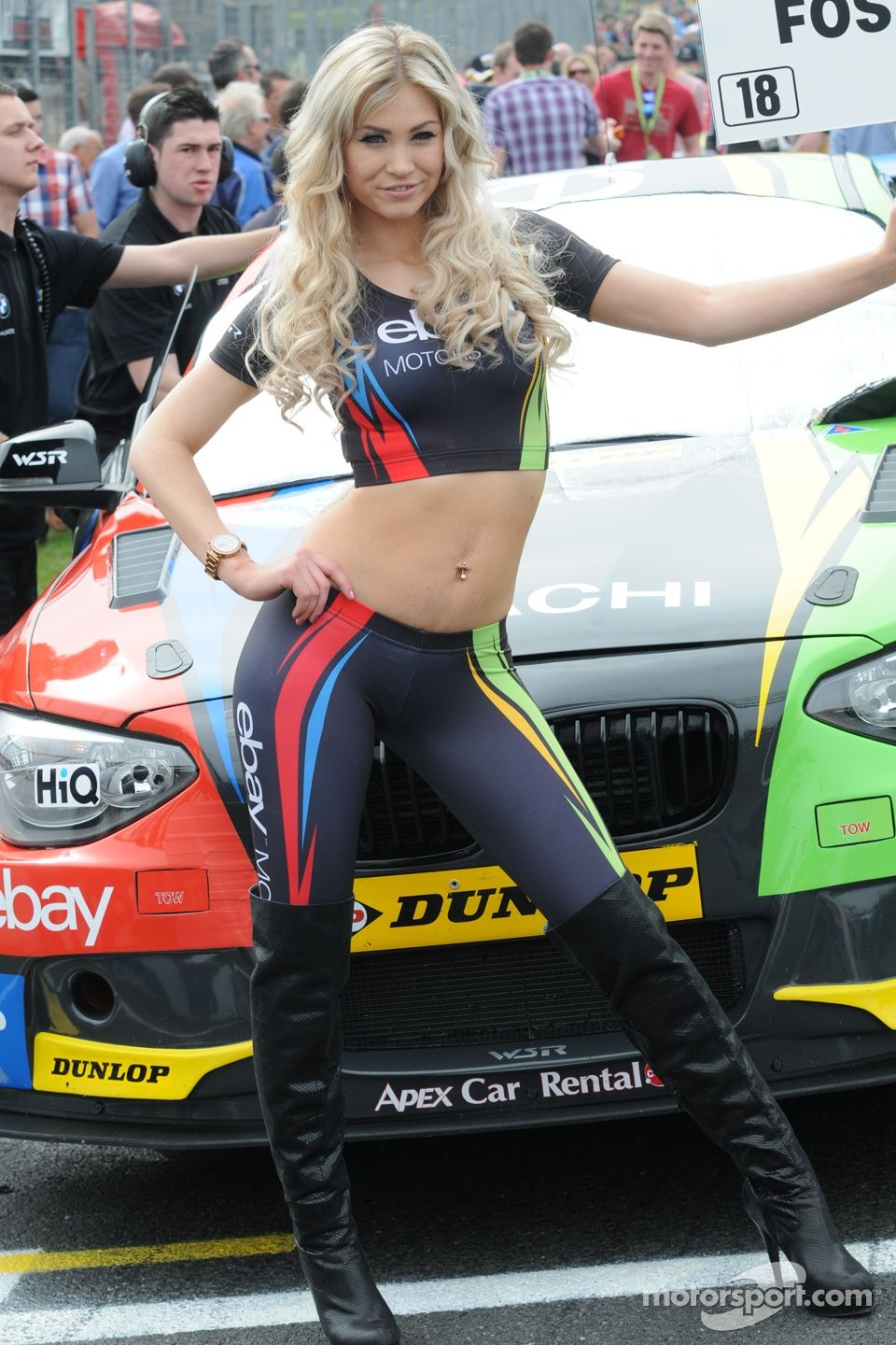 eBay Motors Grid Girl | Meanwhile....on the grid! | Pinterest | Grid ...