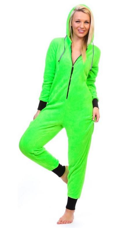 09b2516d8 Womens Neon Green Onesie in 2019