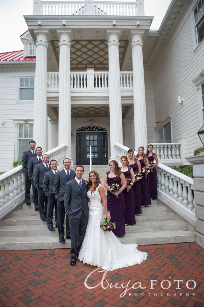 Purple And Grey Bridal Party Google Search Beach