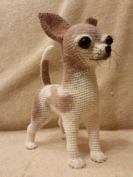 Patrn Gratis Amigurumi De Perro Chihuahua Amiguru Peleles