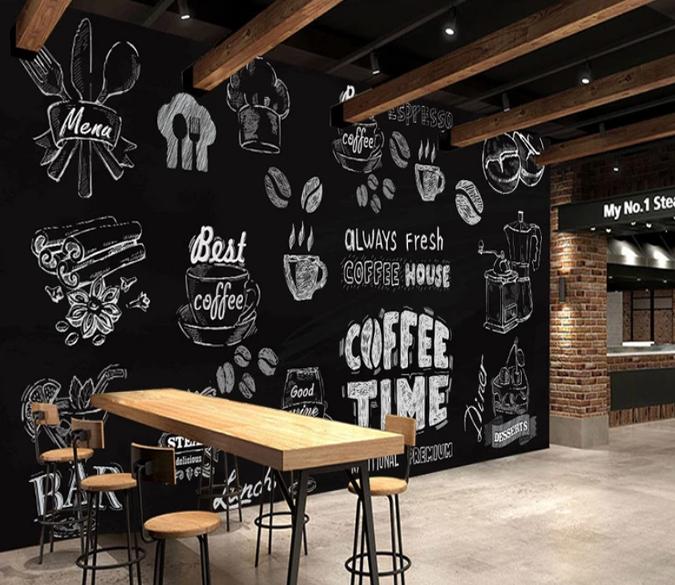 3d Coffee Pot 979 Aj Wallpaper In 2019 Cafe Interior