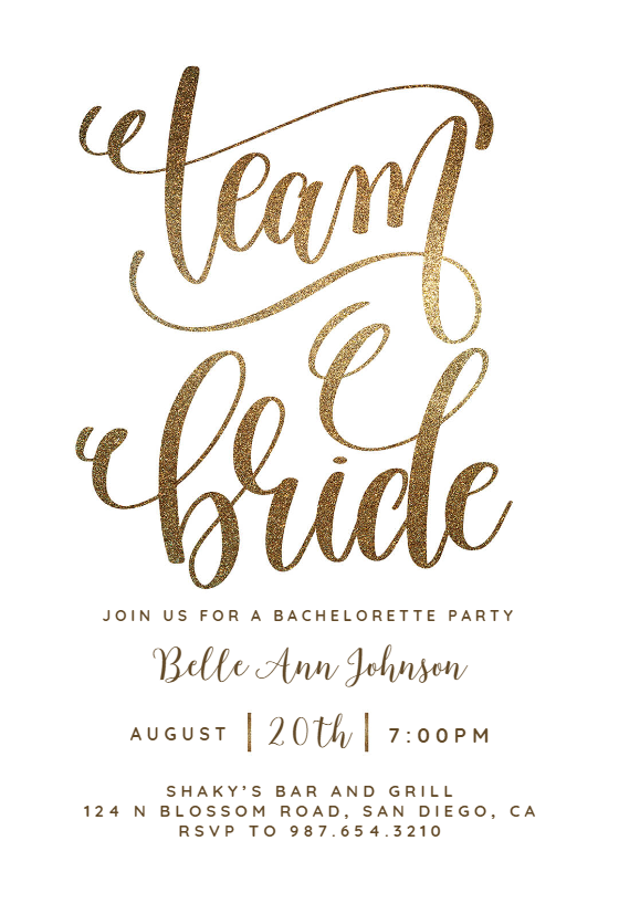 Create Team Bride Bridal Shower Invitation Add Text Tropical Bridal Shower Invitations Bridal Shower Invitations Templates Bridal Shower Invitations Free