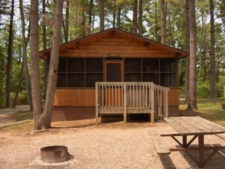Camp At Lincoln State Park In Lincoln City Indiana And