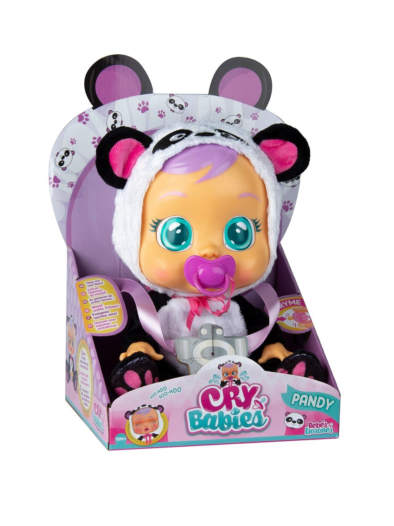 IMC Cry Babies Doll Disney Minnie Mouse Baby New 2019 Cry's Real Tears